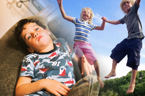 Getting Your Kids Off The Couch And Into Fitness