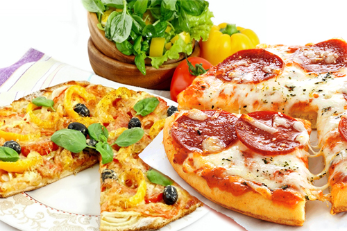 Four Healthy Pizza Options