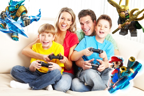 3 Video Games You Can Play With Your Kids