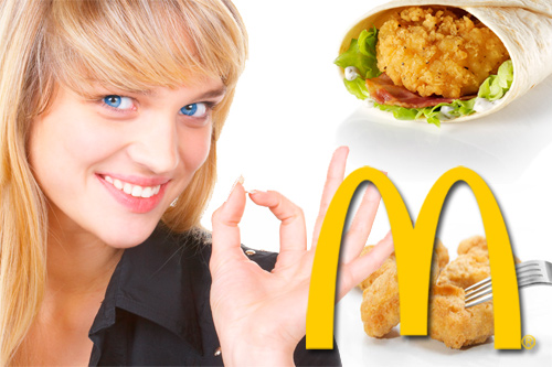 How To Go To McDonalds And Still Eat Kind Of Healthily