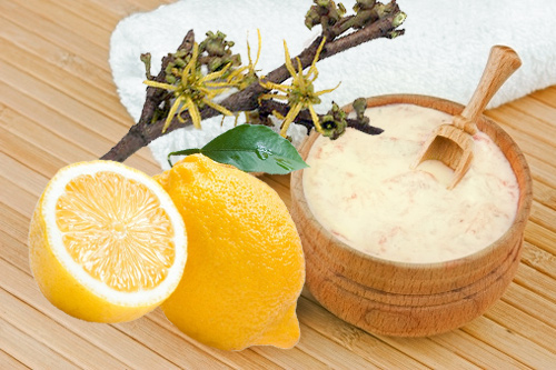 Lemon and Poppy Seeds Exfoliating Cream For Oily Skin
