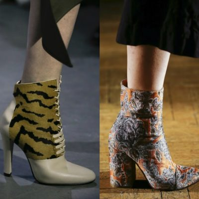 Fall 2017 Shoe Trends