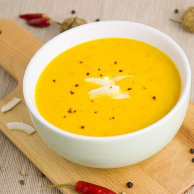 Healthy Food: Ham PumpkinВ SoupВ Recipe