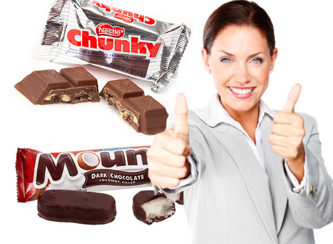 5 Healthiest Candy Bars