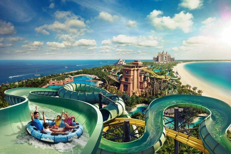 Aquaventure Waterpark: Dubai, UAE