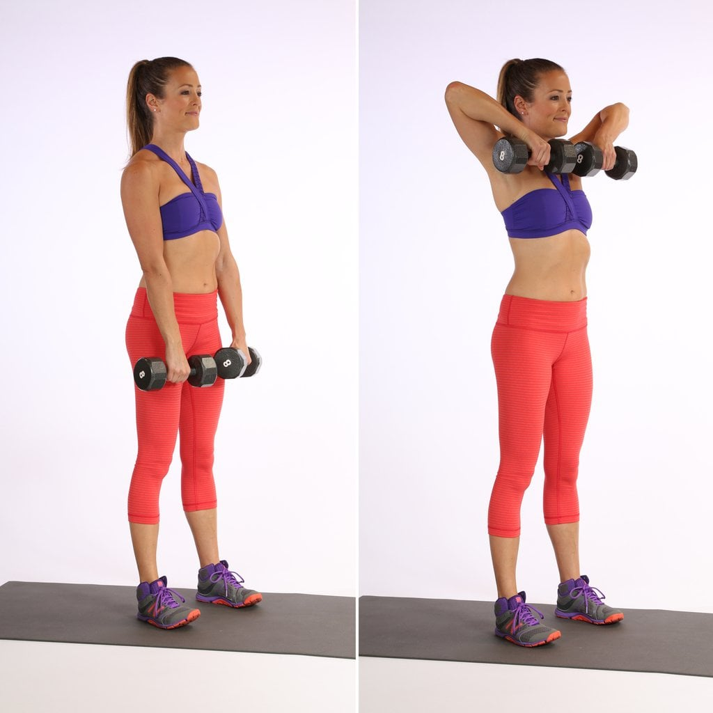 Toning & Sculpting Your Shoulders : Upright Row