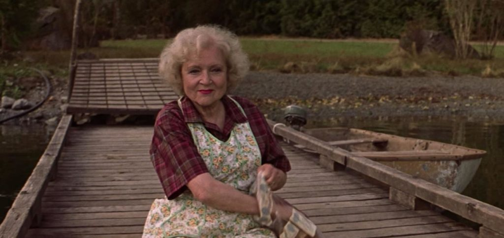 Betty White as Mrs. Delores Bickerman in Lake Placid (1999)