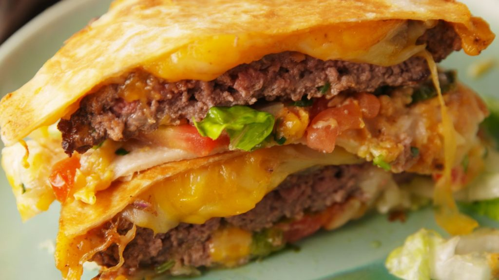 Applebee's: Quesadilla Burger  Calorie Count: 1,440
