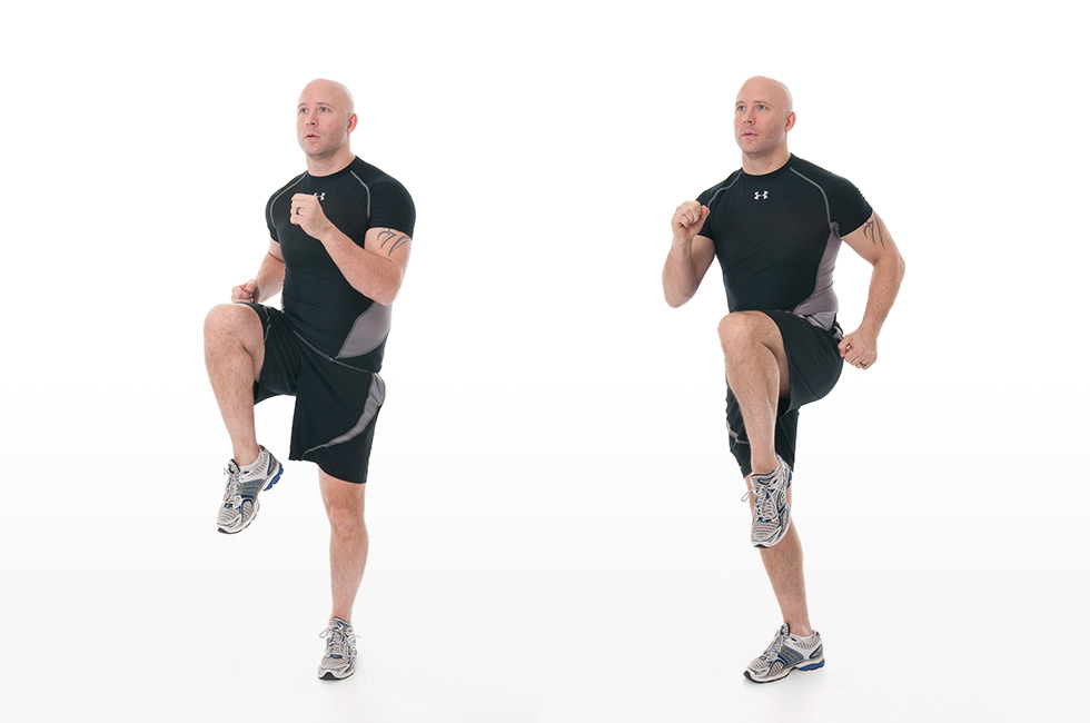 Exercise 3: High Knee Raises
