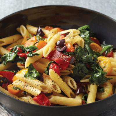 Healthy Food: 20 Minute Southwestern Tomato Pasta Recipe