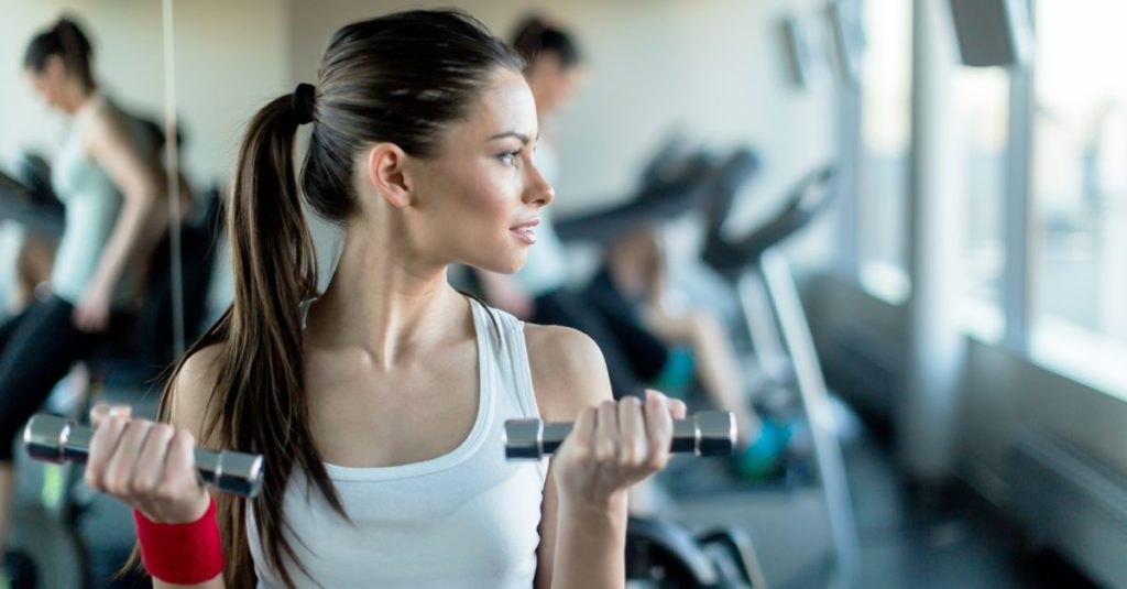 To Lose Weight Fast : Pumping Iron