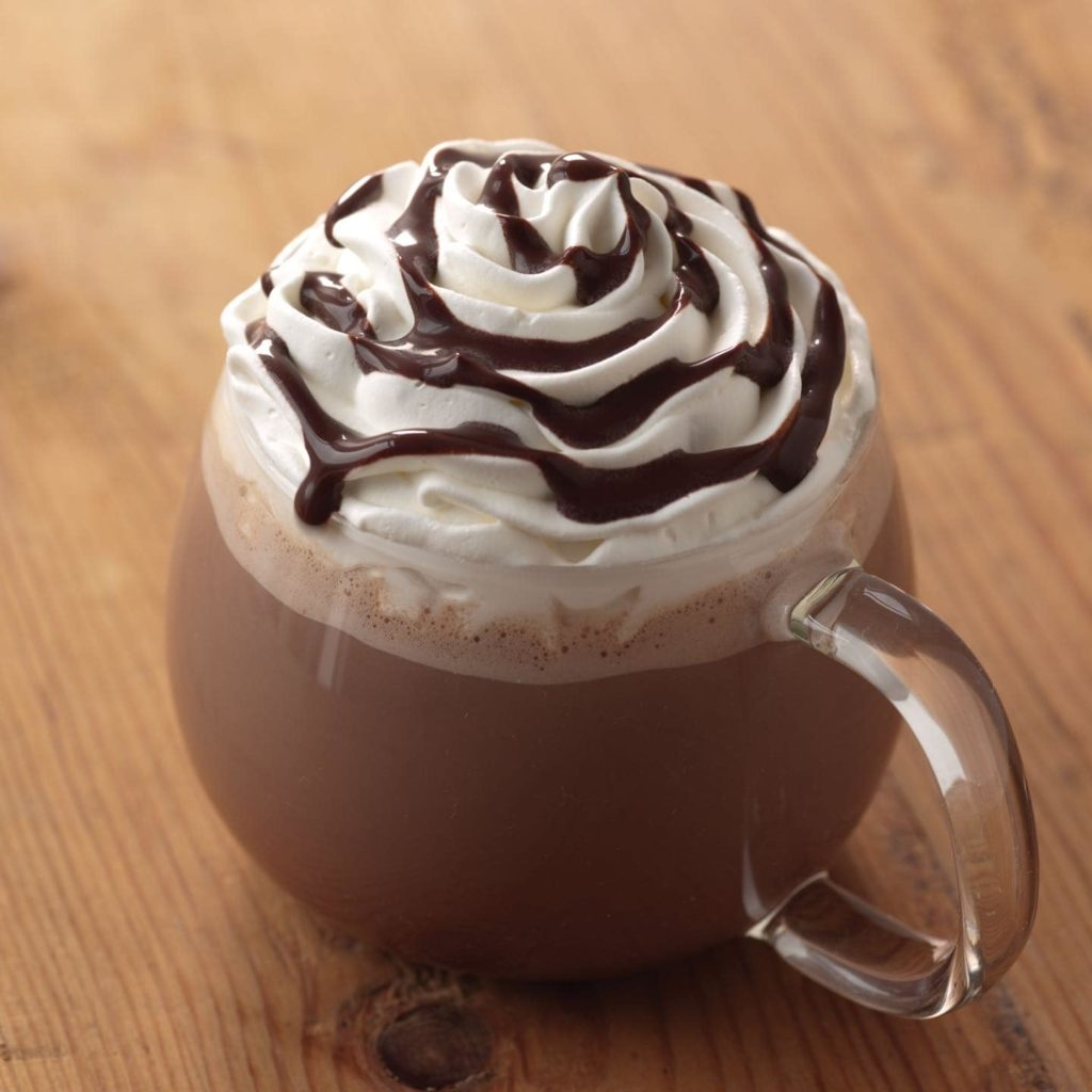 Starbucks: Hazelnut Signature Hot Chocolate                                                  Calorie Count: 600