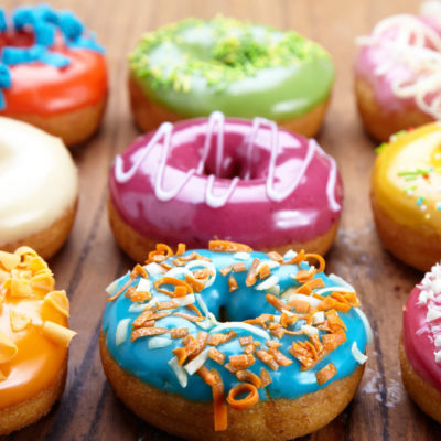 4 Healthier Donuts Suggestions