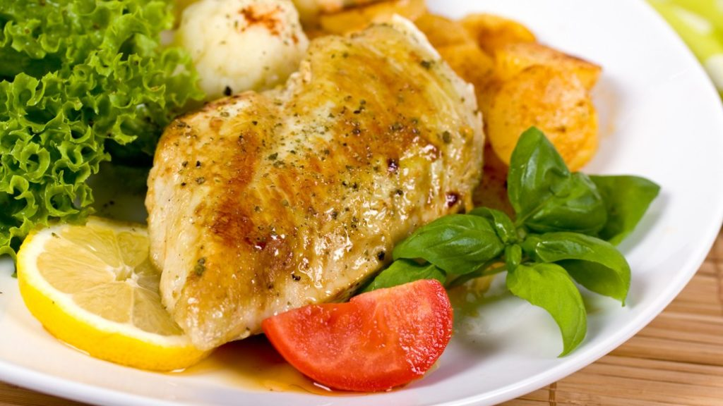 Healthy Food : Dilly Chicken Breasts Recipe